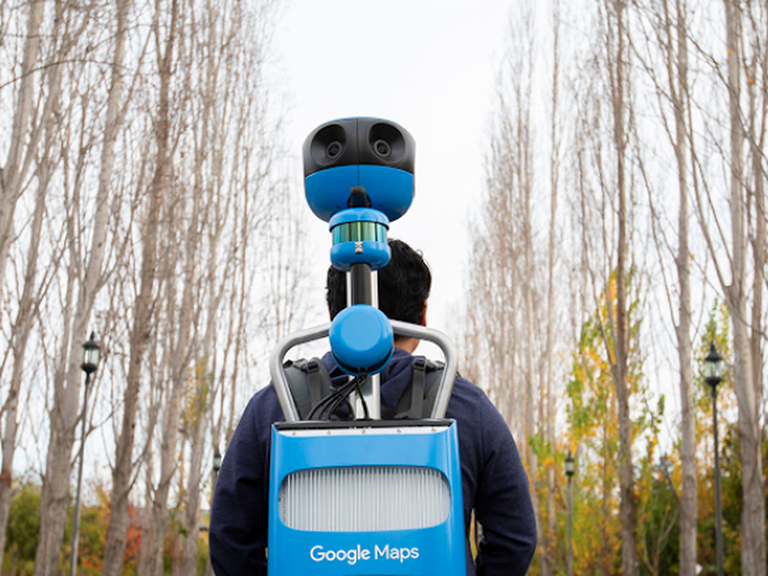 A Brief History of Google's Street View Cameras