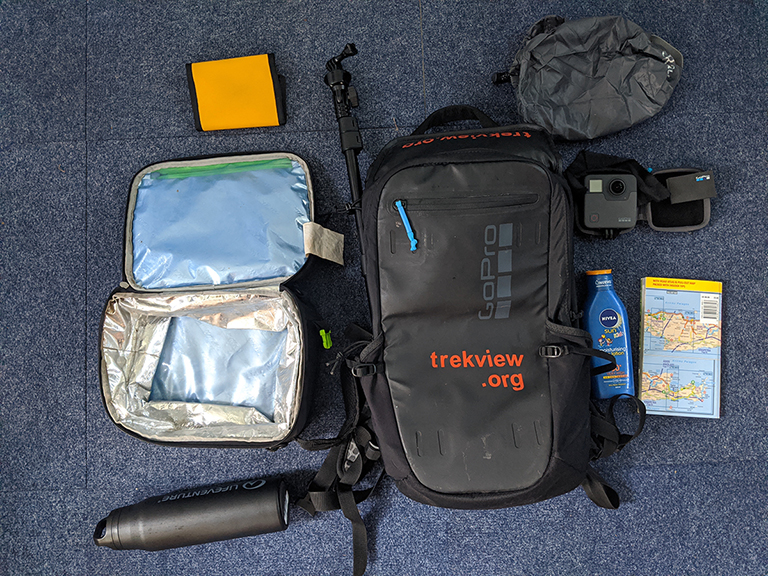What's in your Trek Pack?