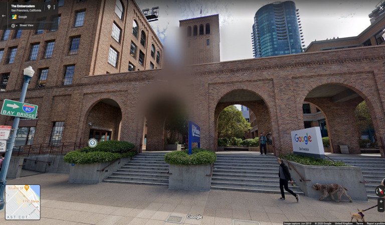 How to Blur People and Objects on Street-Level Mapping Platforms